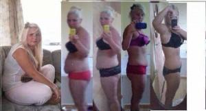 גוס פלוס קומפליט לפני ואחרי תמונה של אישה